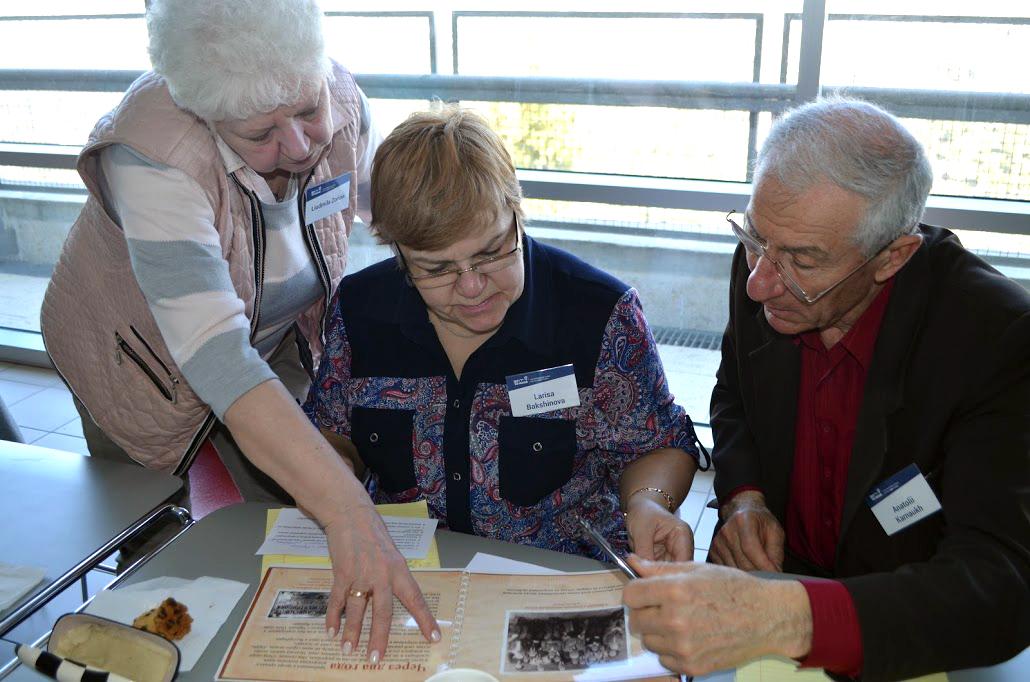 Новый пенсионер: Семинар в Яд ва-Шем