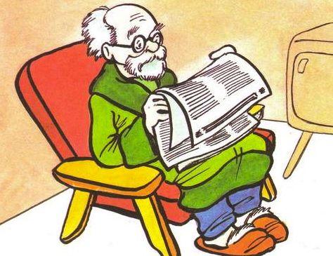Рисунки для детей дедушка