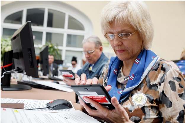 Новый пенсионер: Пенсионеры и гаджеты